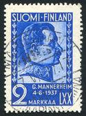 President Carl Gustav Emil Mannerheim — Stock Photo