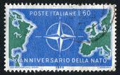 NATO Emblem — Stock Photo
