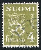 フィンランドの国章 — ストック写真