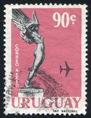 Lot z pomnik poległych lotników — Zdjęcie stockowe