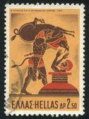 Hércules y el jabalí de erimanto — Foto de Stock