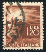 Stamp printed by Italy Torch — Stock Photo