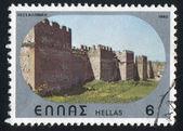Byzantine castle of Thessalonica — Stock Photo