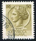 Kvinna som symboliserar italien — Stockfoto