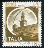 Castles Milano — Stock Photo