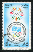 Emblema olimpico — Foto Stock