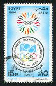 Emblema olímpico — Foto de Stock