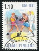Boxing Match — Foto de Stock