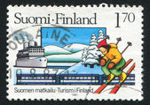 Tourism in Finland — Stock Photo