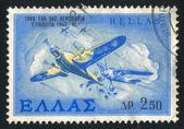 Griekse luchtmacht — Stockfoto