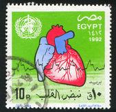 Stämpel ut egypten utantill — Stockfoto