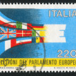 Stamp printed by Italy Flags — Stockfoto #11726777