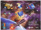 Satélite espacial — Foto de Stock