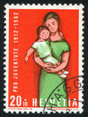 Mutter und kind — Stockfoto