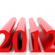 Royalty-Free Stock Photo: New 2012 year