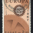 Stamp printed by Greece Gear - Stockfoto