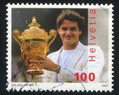 Roger Federer — Stock Photo