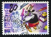 Stamp printed by Switzerland Mouse — Stock Photo
