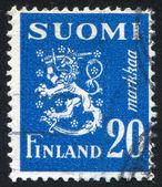 Escudo de finlandia — Foto de Stock