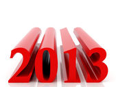 新 2013 年 — 图库照片
