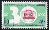 Emblema dell'unesco — Foto Stock