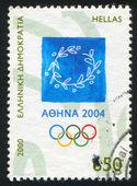 Emblem Olympic Games — Stock Photo