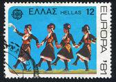 Folk dance — Foto Stock