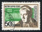Héctor suppici sedes y coche — Foto de Stock