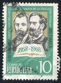 Elbio Fernandez and Jose Varela — Stock fotografie