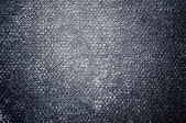 Gray dark canvas texture or background — Stock Photo