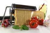 Self-made noodles — Stock Photo