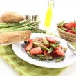 Royalty-Free Stock Photo: Fresh Asparagus salad