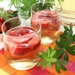 Sweet woodruff punch — Stock Photo