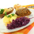 Beef roulade — Stock Photo