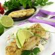 Hake fillet — Stock Photo