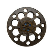 16 mm motion picture film reel — Stock Photo