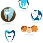colección de iconos de Clinica dental — Vector de stock