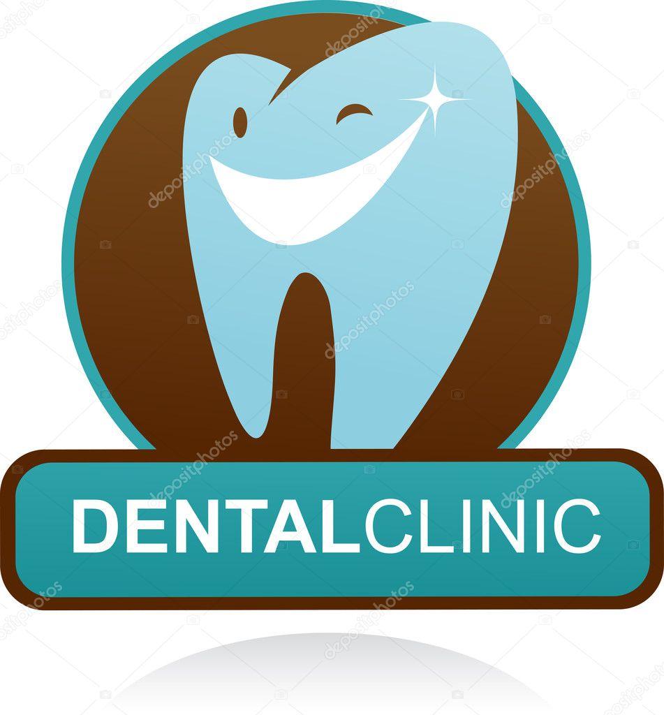 Dental Logo Vector Dental Clinic Vector Icon And