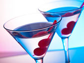 Two martinis — Stock Photo
