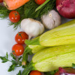 Fresh vegetables - Foto Stock