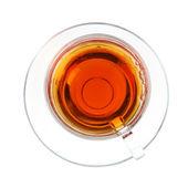 Transparente xícara de chá — Foto Stock