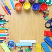 学校の付属品 — ストック写真