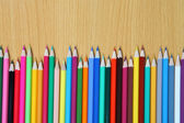Multicolored pencils — Foto de Stock
