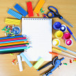 Школьные принадлежности — Стоковое фото