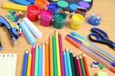 Accessoires d'école — Photo