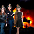 Firefighters — Stockfoto #10917726