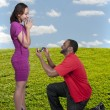 Stock Photo: MProposing