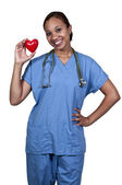 Female Cardiologist — Stock Photo
