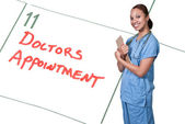 Female Doctor — Stock Photo