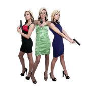 Female Detectives — Stock Photo